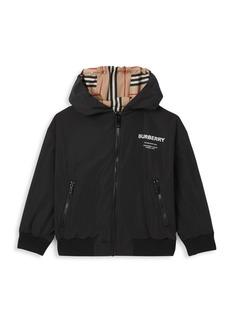 Burberry Little Boy's & Boy's Tommy Icon Reversible Jacket