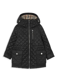 Burberry Little Boy's & Boy's Trey Quilted Jacket