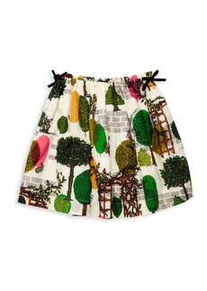 Burberry Little Girl & Girl's Tree Print Skirt
