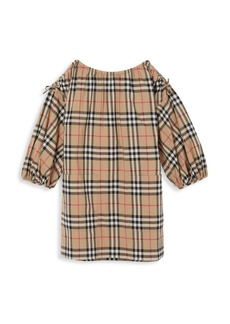 Burberry Little Girl's & Girl's Alenka Tartan Dress