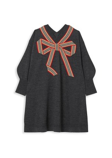 Burberry Little Girl's & Girl's Arabelle Merino Wool & Mulberry Silk Dress