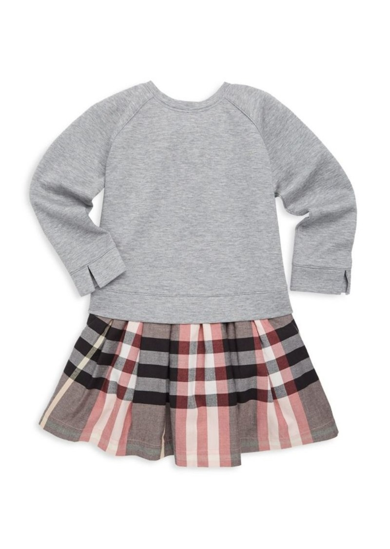 ef433a5af49a On Sale today! Burberry Little Girl s   Girl s Francine Sweatshirt Dress