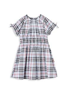Burberry Little Girl's & Girl's Joyce Check Dress