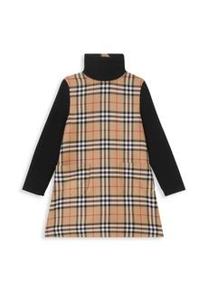 Burberry Little Girl's & Girl's KG2 Adeline Plaid Dress