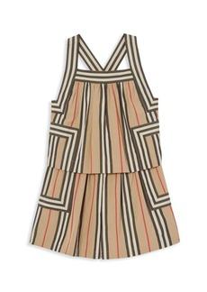 Burberry Little Girl's & Girl's KG4 Florence Tiered Shift Dress