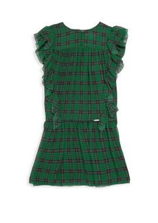 Burberry Little Girl's & Girl's Lallie Silk Dress