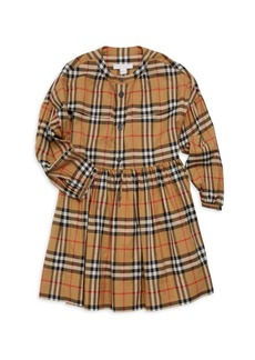 Burberry Little Girl's & Girl's Marny Cotton Check Dress