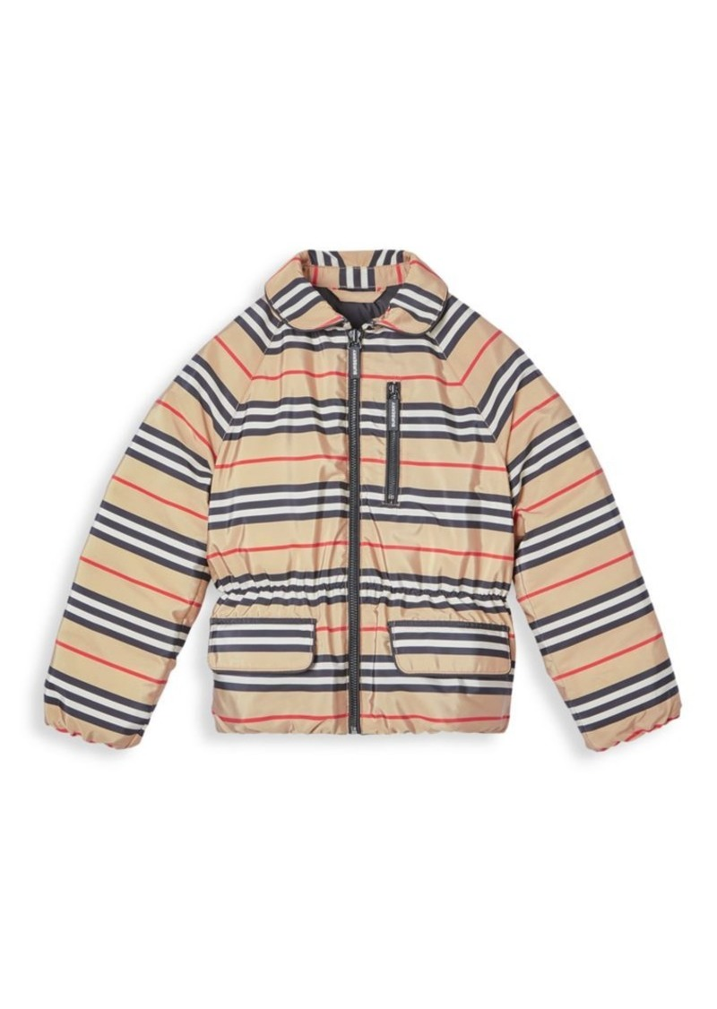 Burberry Little Girl's & Girl's Mollie Icon Down Jacket