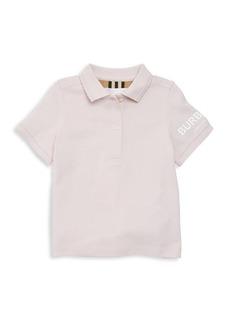 Burberry Little Girl's & Girl's Rae Branded Polo