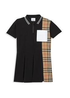 Burberry Little Girl's & Girl's Serena Polo Shirtdress