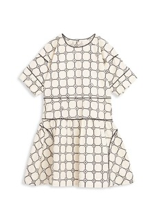 Burberry Little Girl's & Girl's Short Sleeve Dress