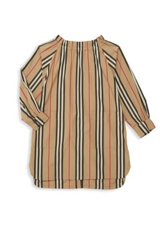 Burberry Little Girl's & Girl's Stripe Tunic Dress