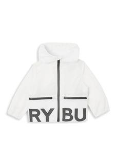 Burberry Little Kid's & Baby's IB6 Mini Seth Logo Hooded Jacket