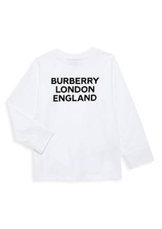 Burberry Little Kid's & Kid's BLE Logo Long Sleeve T-Shirt