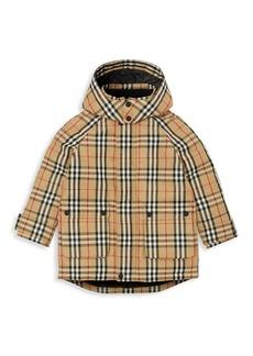 Burberry Little Kid's & Kid's Chrissy Vintage Check Down Coat