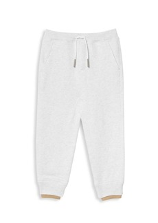 Burberry Little Kid's & Kid's KG4 Fabbio Branded Joggers