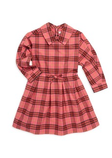 Burberry Little's Girl's & Girl's Cressida Plaid Fit-&-Flare Dress