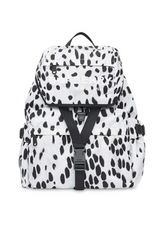 Burberry Logo and Dalmatian Print Nylon Backpack