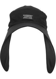 Burberry logo appliqué bonnet hat
