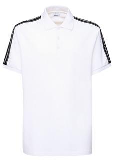 Burberry Logo Band Cotton Piqué Polo
