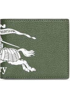 Burberry logo bi-fold wallet