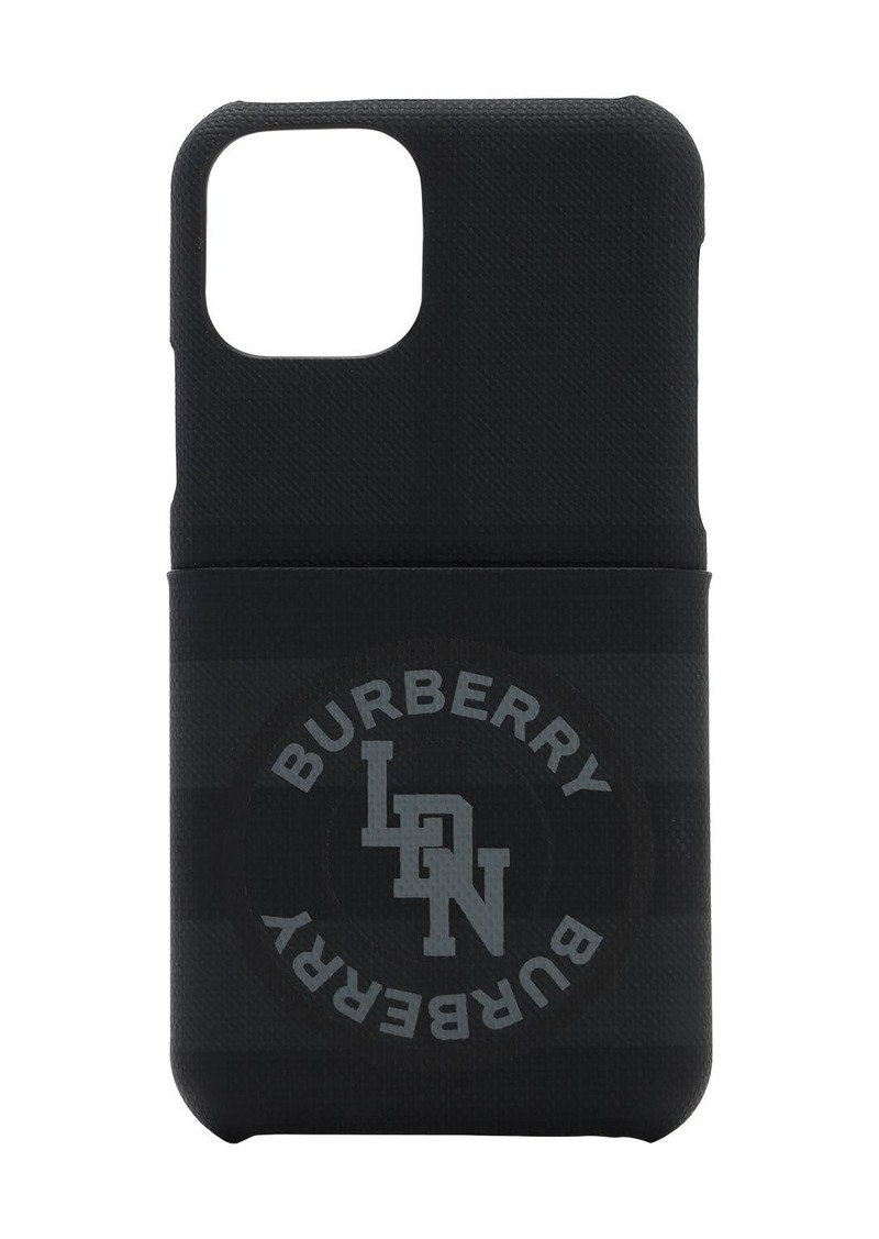 Burberry Logo Coated Canvas Iphone 11 Pro Case