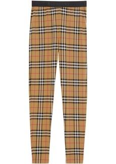Burberry Vintage Check pattern leggings