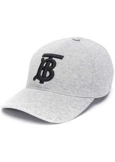 Burberry logo embroidered cap