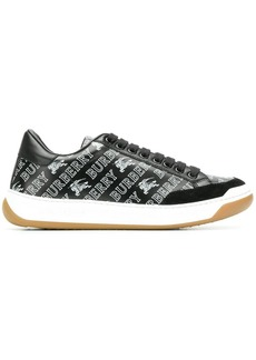 Burberry logo lace-up sneakers