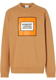 Burberry logo patch sweatshirt