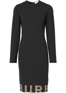 Burberry logo-print dress