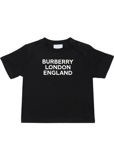 Burberry Logo Print Jersey T-shirt