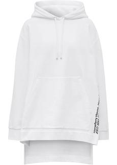 Burberry logo print jumper