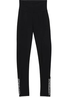 Burberry logo print performance leggings