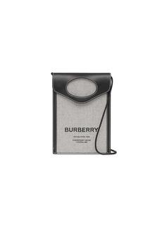 Burberry logo-print phone pouch