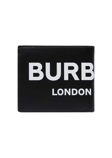 Burberry logo billfold wallet