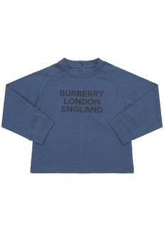 Burberry Logo Printed Long Sleeve T-shirt