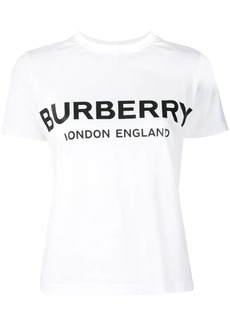 Burberry logo printed T-shirt
