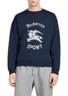 Burberry Logo Sport Cotton-Blend Sweatshirt
