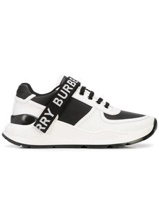 Burberry Logo strap sneakers