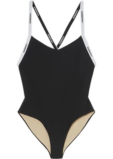 Burberry logo tape swimsuit