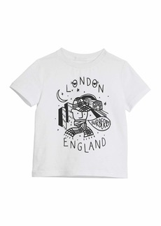 Burberry London Boy Graphic Short-Sleeve T-Shirt