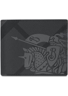 Burberry London check bi-fold wallet