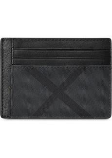 Burberry london check card case
