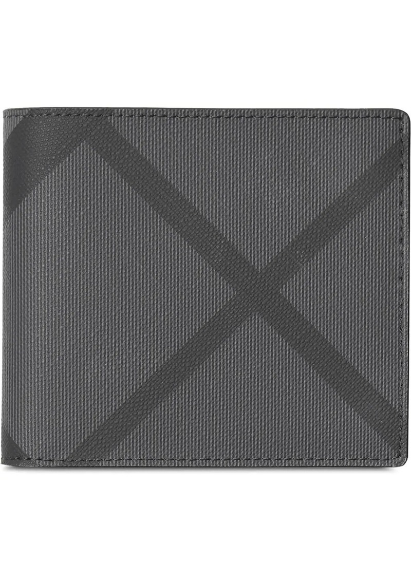 Burberry london check ID wallet