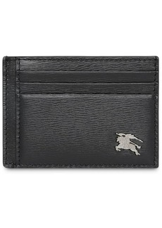 Burberry London Leather Money Clip Card Case