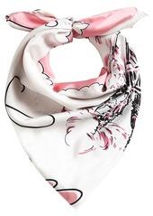 Burberry London print scarf