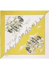 Burberry London Print square scarf
