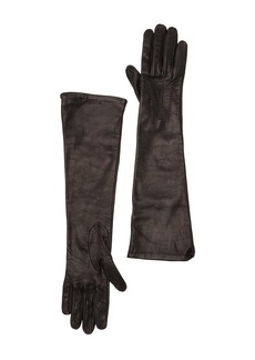 Burberry Long Leather Gloves