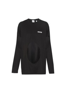 Burberry Long sleeves asymetric top